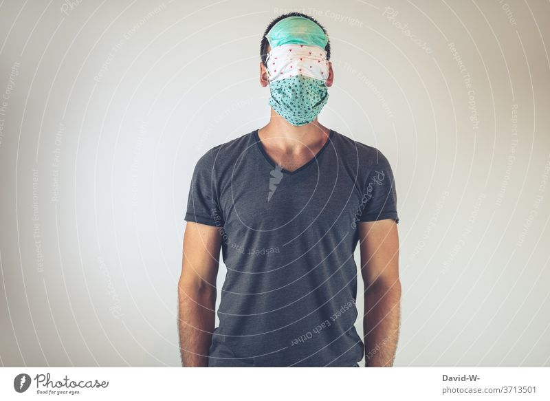 protect breathing mask Respirator mask Mask corona anxiously Safety Face Protection Excessive
