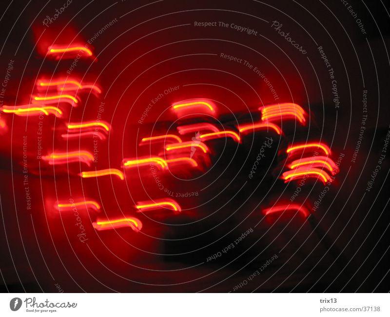 lightdance2 Red Black Dark Long exposure Blur Movement Light Heart