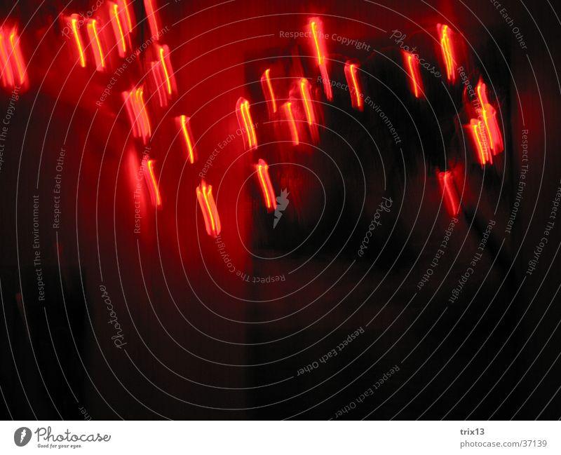 lightdance2 Black Red Dark Long exposure Heart Light Blur Movement