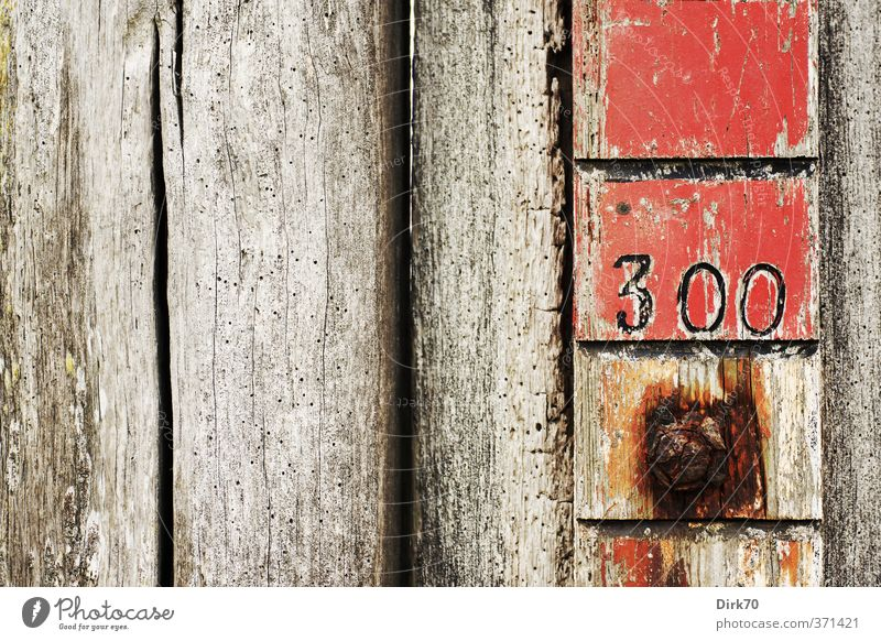 Old Water White Red Black Wall (building) Coast Wall (barrier) Gray Wood Metal Brown Signs and labeling Digits and numbers North Sea