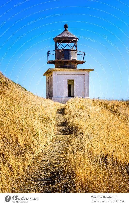 The abandoned Punta Gorda Lighthouse on the Lost Coast, California USA california lighthouse coast gorda punta lost punta gorda pacific ocean