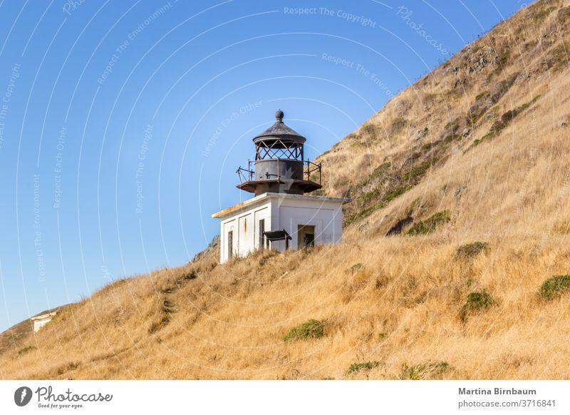 The abandoned Punta Gorda Lighthouse on the Lost Coast, California california lighthouse coast gorda punta lost punta gorda pacific ocean punta gorda lighthouse