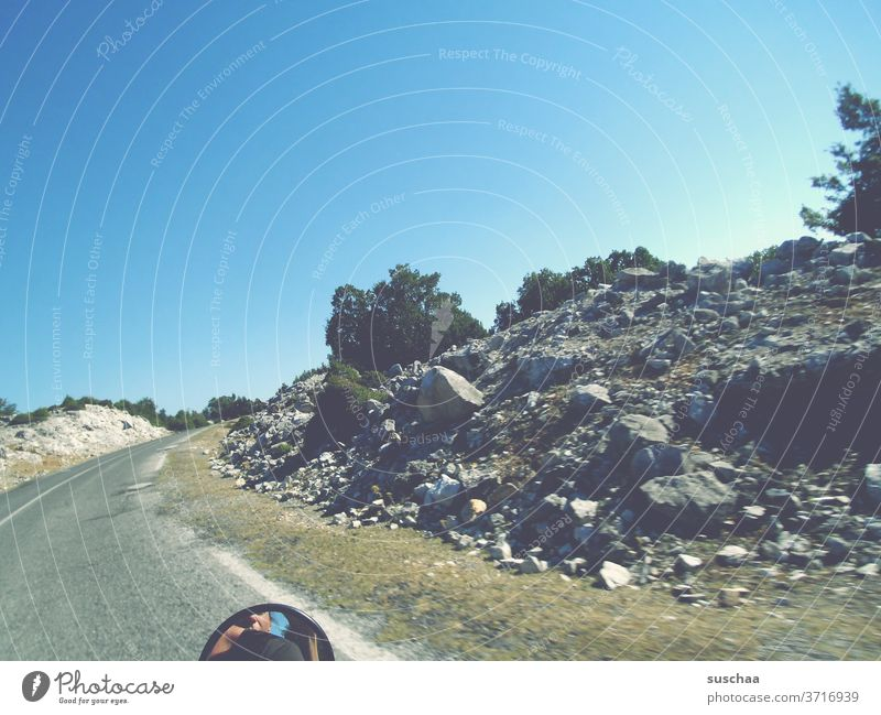 riding a motorcycle across the north of greece | roadmovie Street Trip Motorcycle Motorcycle Ride Vanishing point Landscape Nature Deserted Freedom