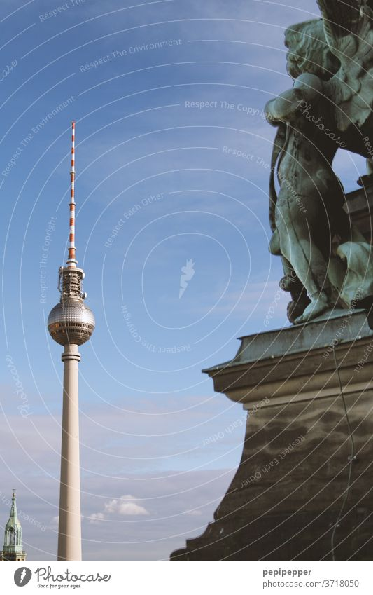 Angels over Berlin Television Tower Berlin Capital city Church Downtown Television tower Landmark Tourist Attraction Berlin TV Tower Alexanderplatz Tourism