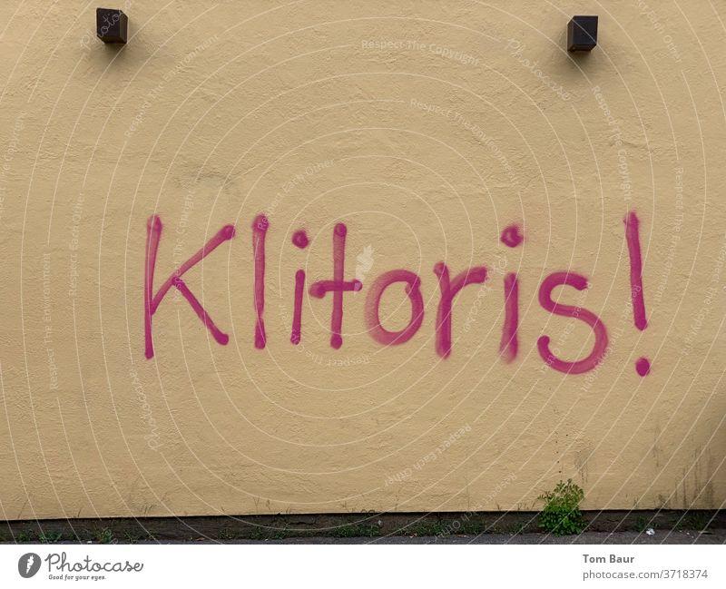 "Graffiti ""clitoris"" - women power graffiti Girl power women's day International Women's Day Homosexual lesbian lesbians lesbian and gay scene women to the power"
