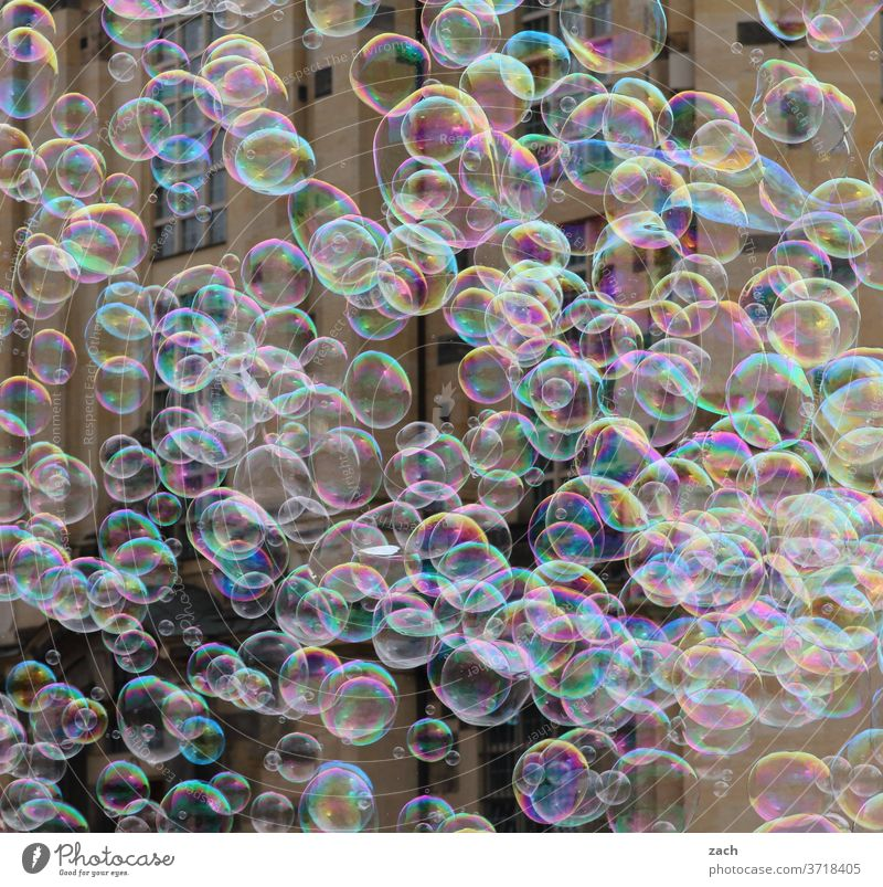 Dreams and soap bubbles Soap bubble Bubble Wall (building) variegated Flying Ease Many Infancy Children's game mass a lot quantity Round Hover