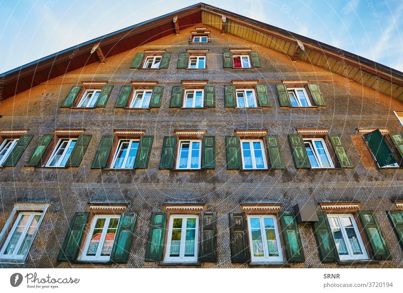House in Bolsternang europe Germany Isny Algau window shutters abode accommodation algau apartment apartments bolsternang building dwelling dwellings flats