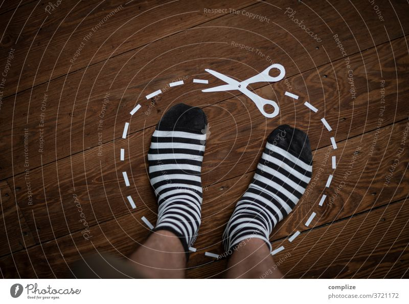 Trouble - my Space cut Claw silhouette Paper Areas Barefoot Lawn House (Residential Structure) Stand detail home at home range socks Striped socks annoyance