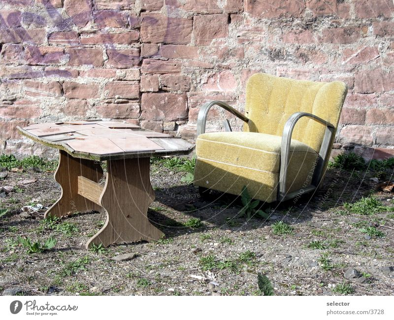 Sun Table Armchair Photographic technology