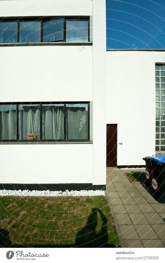 Bauhaus settlement Dessau-Törten bauhaus settlement dessau-törten Old Ancient History of the location Saxony-Anhalt Summer Town Copy Space urban dwell