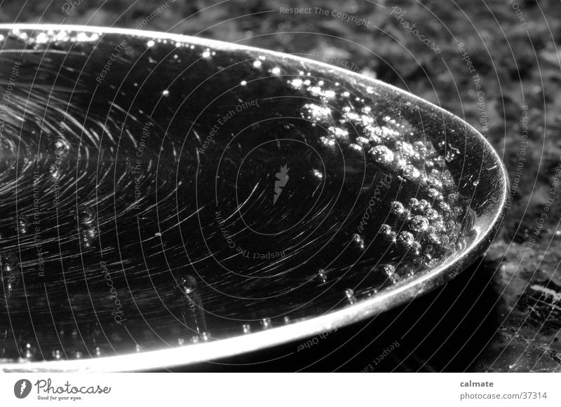 Spoon full of cocacola..Right;) Cola Carbonic acid Black White Cutlery Macro (Extreme close-up) Close-up marble table Bubble