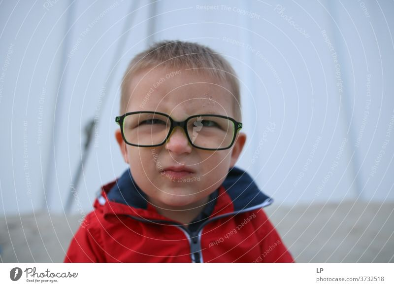 small boy wearing glasses making faces glasses to see Religion and faith happy kid smile Beautiful Optimism Acceptance Experience Trust Authentic Peaceful