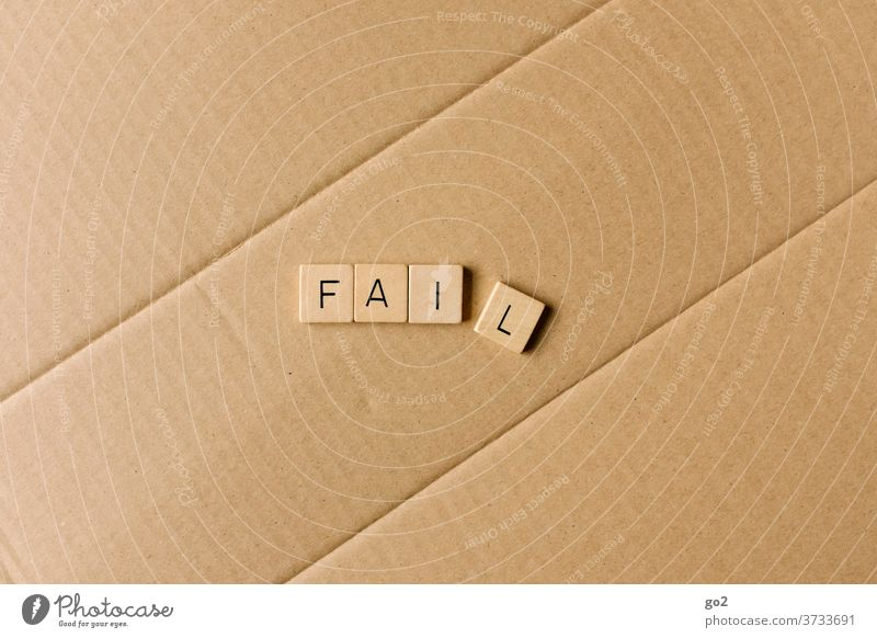 fail Adversity failure False Error unlucky Fiasco fear of failure Flunk Breakdown Broken Jinx Letters (alphabet) typo Typography Characters Word Text