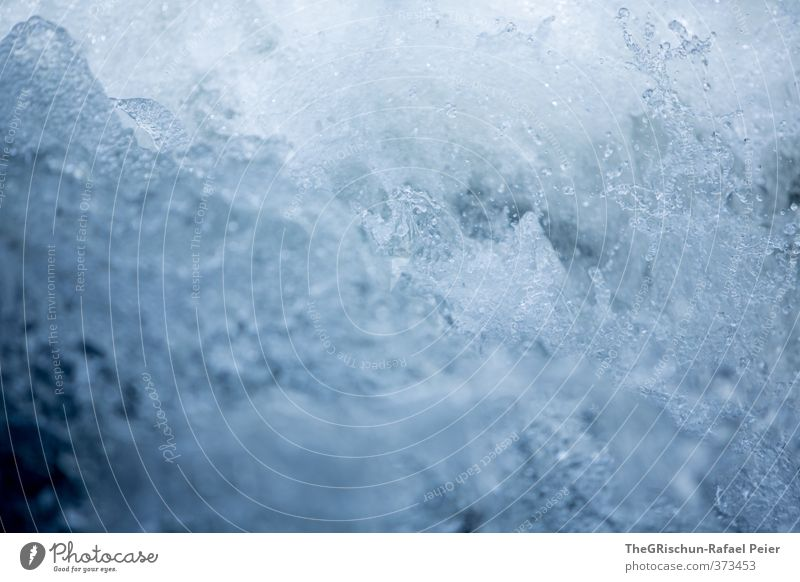 Cold clear water MK II Environment Nature Water Drops of water Blue Black White Food Beverage Whirlpool Inject Effervescent Refreshment Considerable Wild