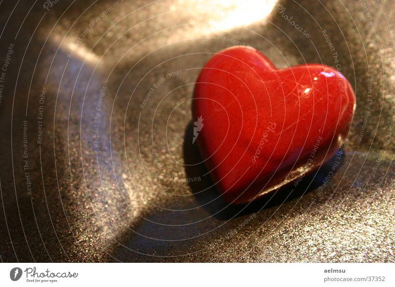 Red Love Heart Romance Kitsch