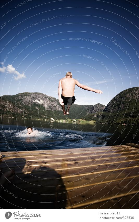 Norway Hiking Active Holidays Joy Happy Well-being Contentment Relaxation Swimming & Bathing Vacation & Travel Tourism Trip Adventure Freedom Expedition Camping