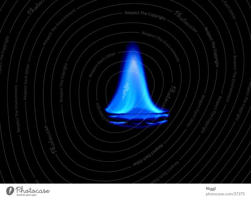 Blue Dark Blaze Burn Alcoholic drinks Flame Photographic technology