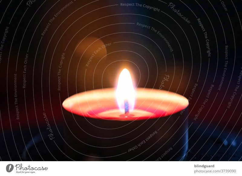 When grief and loss darkly reach for our soul, often the only light is the small flame of a candle that gives us comfort and fades away in it. shoulder stand
