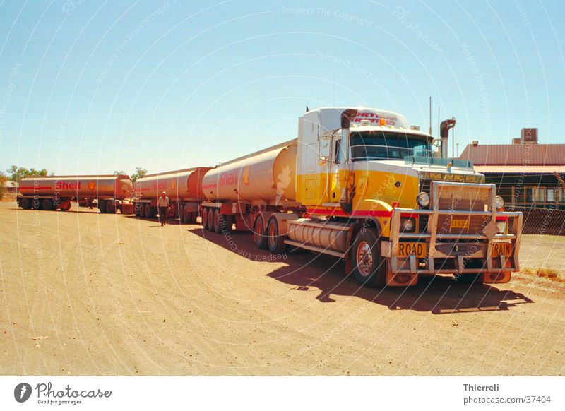 Transport Logistics Truck Gasoline Road train