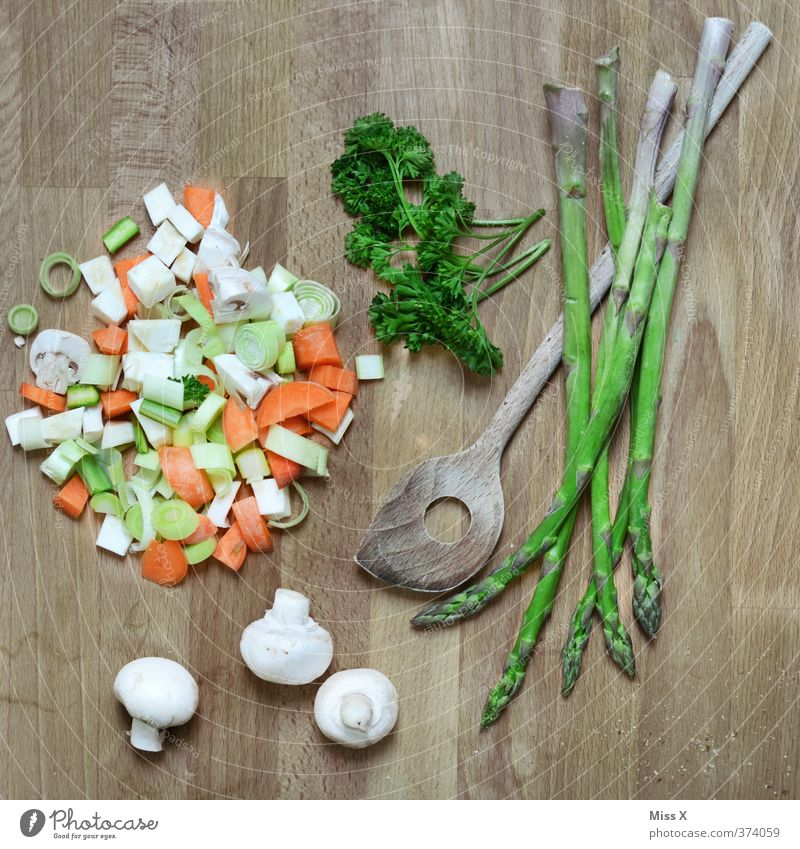 one-stop Food Vegetable Herbs and spices Nutrition Lunch Dinner Organic produce Vegetarian diet Diet Fasting Slow food Fresh Healthy Green Carrot Stew Soup