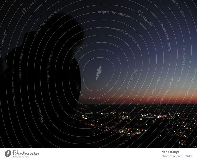 dawnsight Sunset Twilight Panorama (View) Light Human being Large