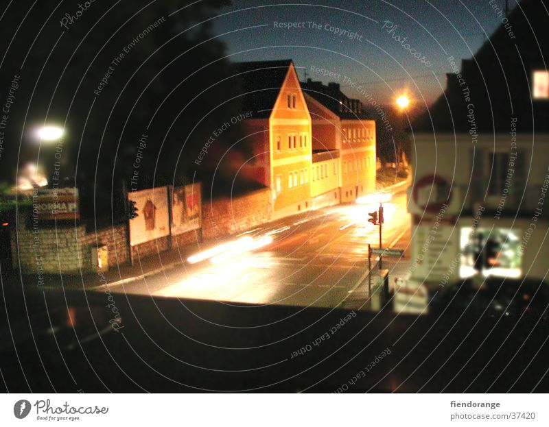 nightvison Night Light Sunset Architecture Street