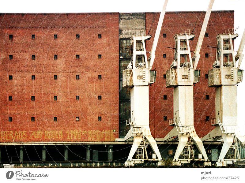 Hamburg Trip Industry Logistics Harbour Crane Goods