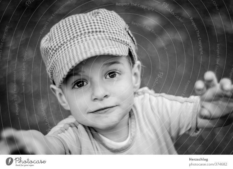 Being a child... Child Boy (child) Face 1 Human being Catch Glittering Looking Playing Growth Happy Joie de vivre (Vitality) Longing Adventure Help Hope