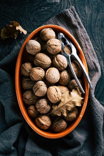 Walnuts in shell. Autumn concept fresh tasty autumn healthy background nutrition walnut food brown vegan raw nature ingredient organic diet walnuts snack rustic