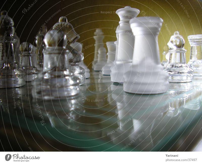 Dark Bright Glass Leisure and hobbies Chessboard