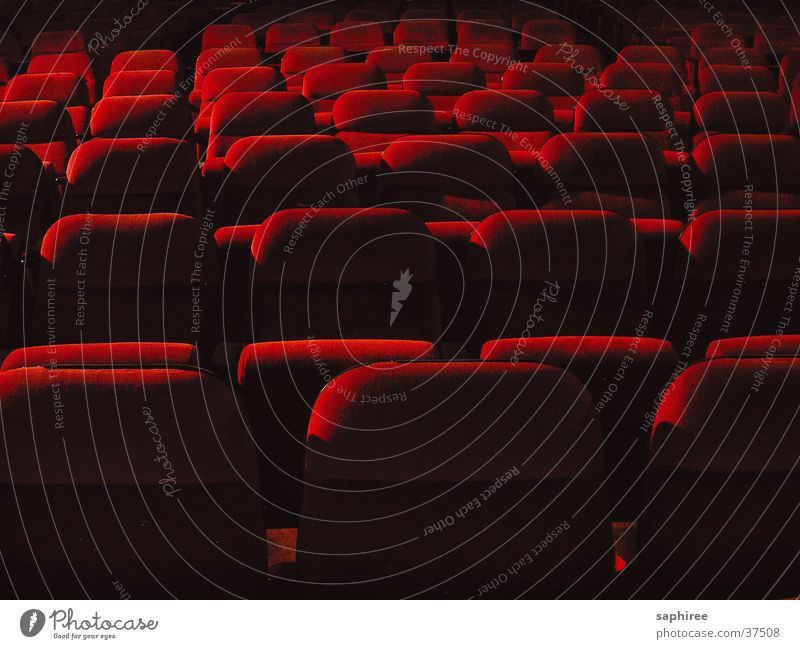 auditorium Dark Cinema Hall Chair Armchair Leisure and hobbies Theatre