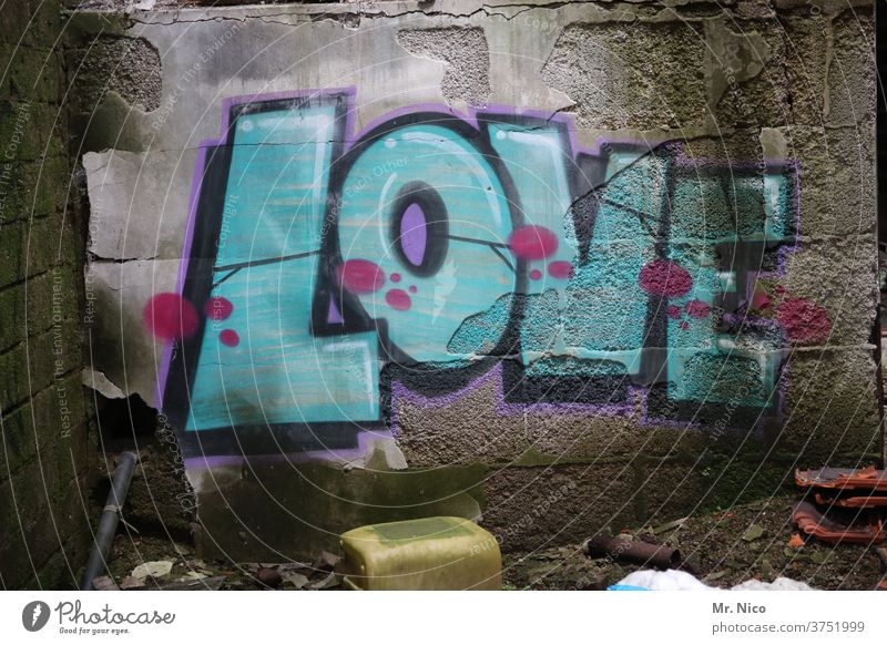 love Graffiti Love writing lettering sensation Infatuation Characters sprayed With love Happy Relationship Display of affection Communication Emotions