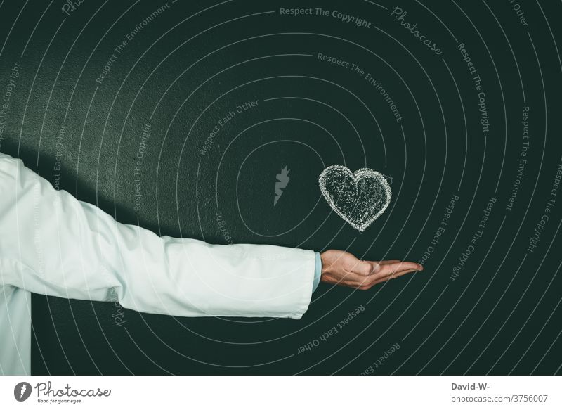 Doctor with heart - cardiologist Cardiologist Healthy medicine care Heart Passion helping Health care doctor Anonymous