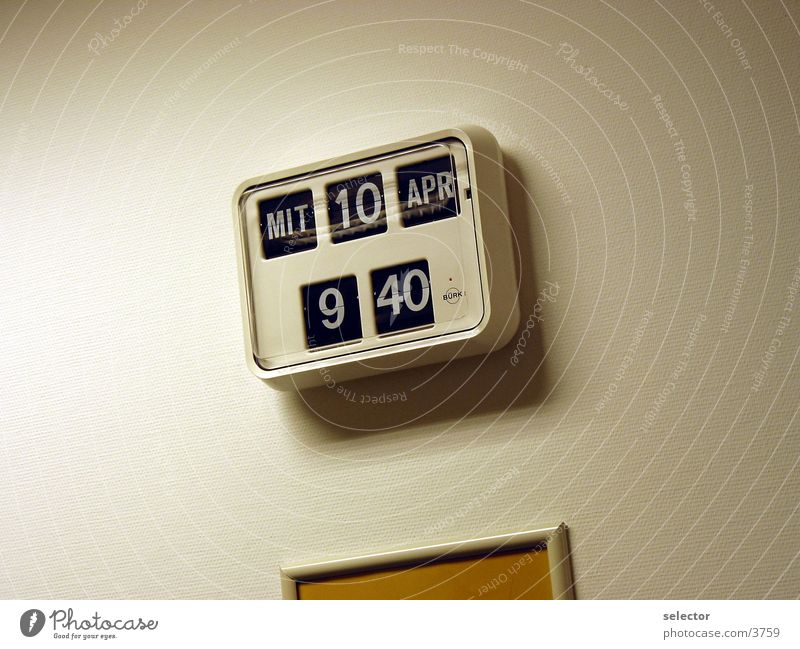 Business Graffiti Time Clock Things Date Management Fiber optics