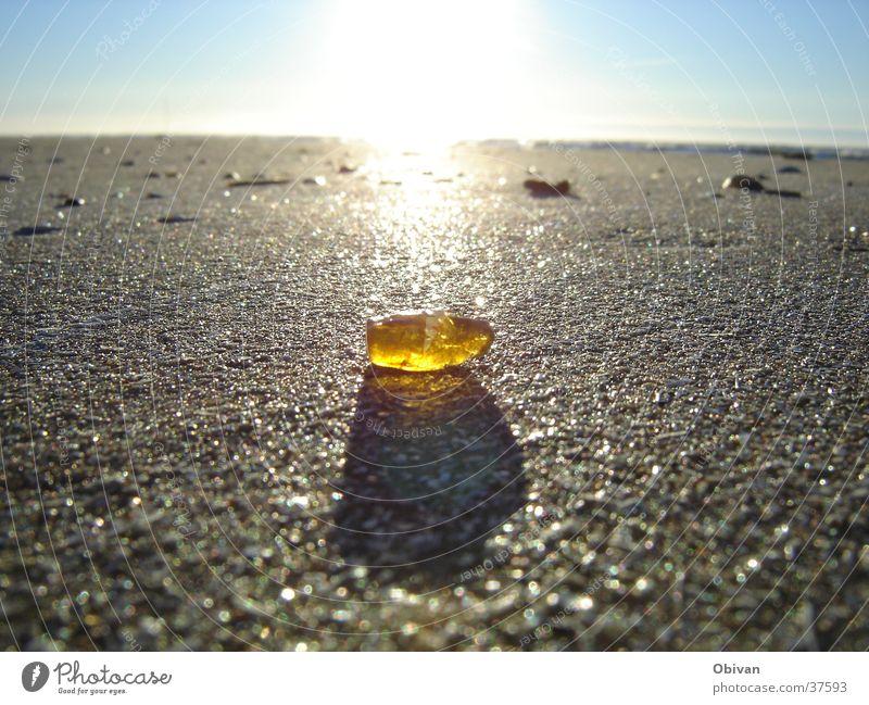 Sky Sun Ocean Beach Yellow Stone Lake Sand Coast Glittering Gold Horizon Earth Multiple Fat Radiation