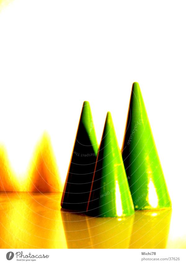 Christmas trees Tree Green Blanched Photographic technology stylized Christmas & Advent Snow