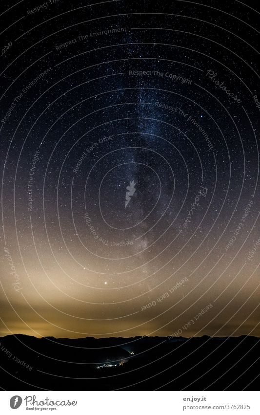 vital | stardust from the Milky Way and the universe with its galaxies and planets and stars and suns and in general Milky way Universe space Night Horizon