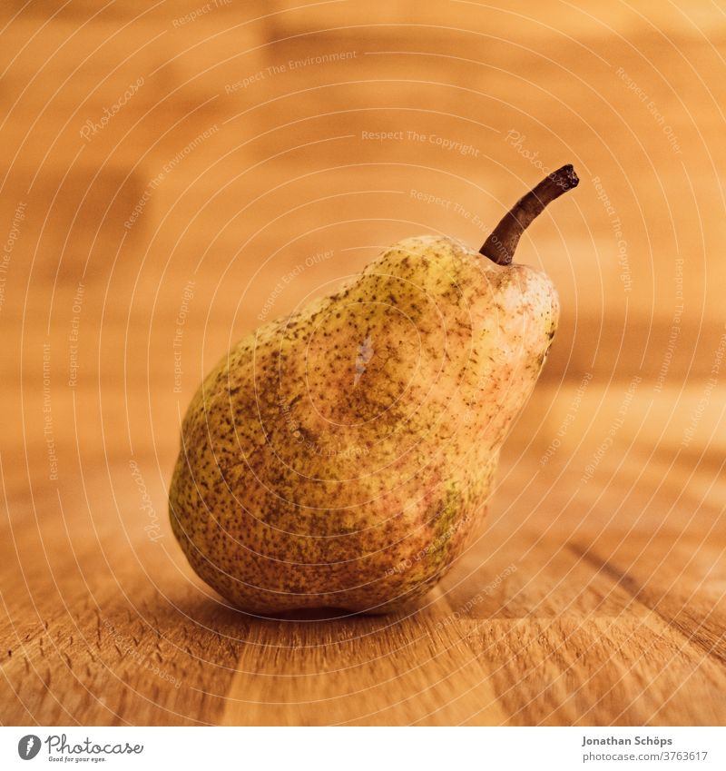 pear still life close-up on wood Pear Harvest thanksgiving Thanksgiving Vegetable Autumn wooden background Wooden table food fruit Holiday season self-catering