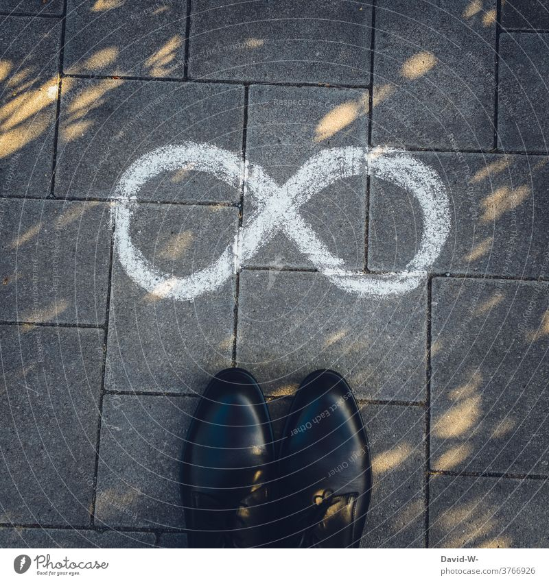 Character Infinite infinitely Infinity Sign Human being symbol endless forever boundless inexhaustible exorbitant divine