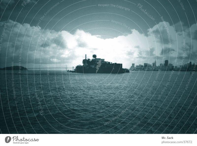 Bay Tourist Penitentiary Tourist Attraction Fortress North America San Francisco Alcatraz