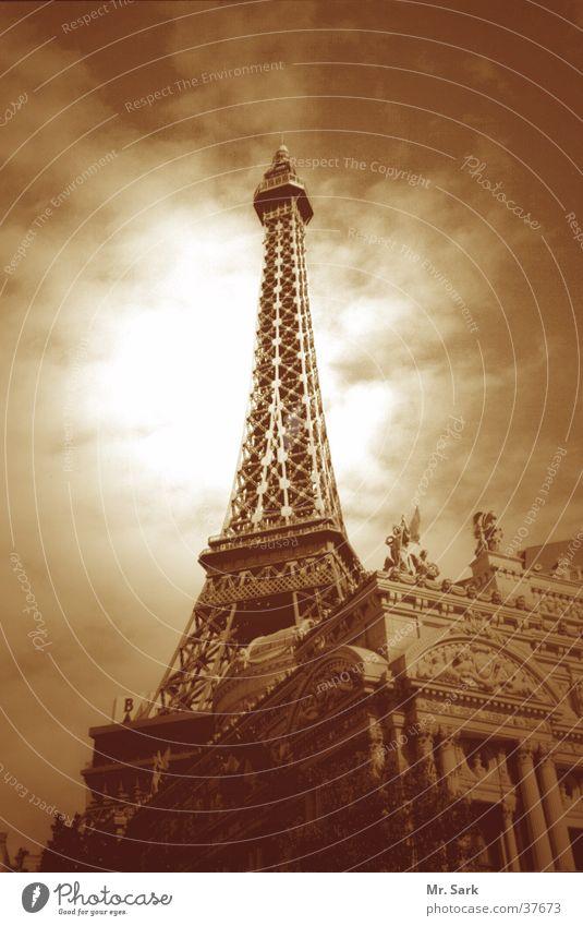 Tower Landmark Paris Casino Eiffel Tower North America Las Vegas Recreated