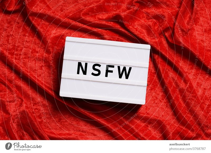 nfsw is internet slang for not safe for work nsfw censorship nudity porn pornography profanity violence sex inappropriate censored xxx adult content unsuitable