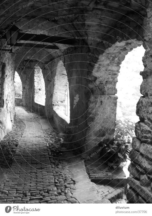 archi II Light Historic Architecture Shadow Shcblack-white Corridor