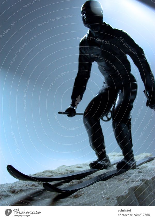 Snow Skiing Skis Hero Iron Marble The fifties Pioneer