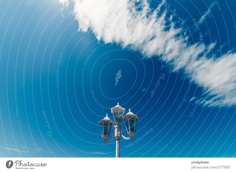 Lantern, lantern, lantern Environment Elements Air Sky Clouds Summer Climate Weather Beautiful weather Wind Blue White Cloud formation Cloud pattern