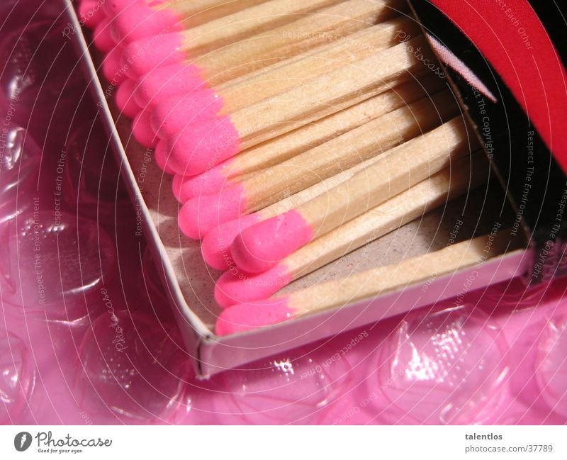 pretty good matches Match Pink Lighter Things Macro (Extreme close-up) Blaze