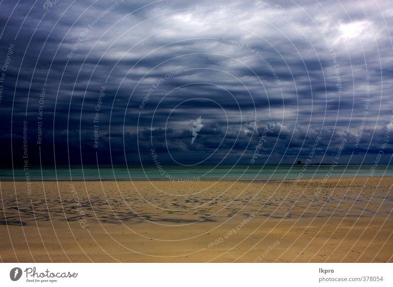 cloudy in indian ocean madagasca sand isle beach Vacation & Travel Trip Beach Ocean Island Waves Nature Sand Sky Clouds Hill Rock Coast Stone Line Blue Brown