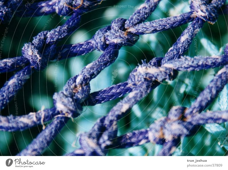 Nature Blue Net Leisure and hobbies Knot Loop