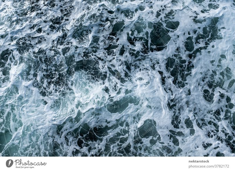 Turbulant Natural Water Abstract wave water foam ripple fjord abstract wild turbulent clean tempestuous liquid high angle view no people nobody nature power