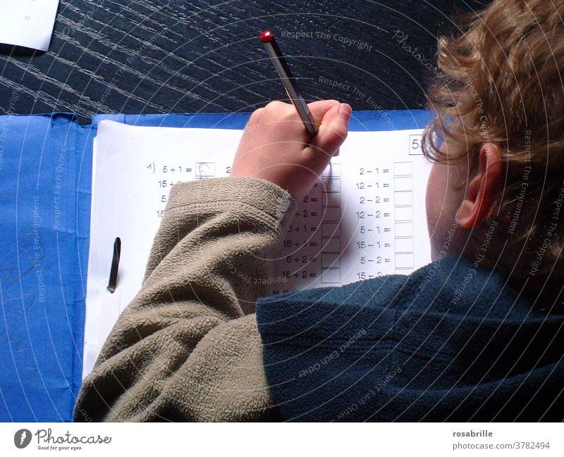 vital | good school education, child does homework School Homework Child Study schooling Elementary school schuler Primary school pupils practice Schoolchild